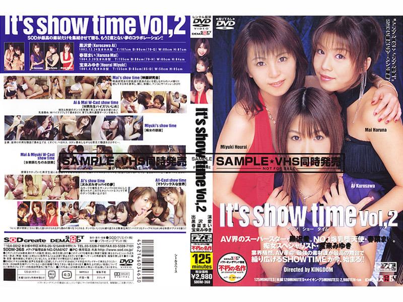 SDDM-368 Its Show Time VOL.2 - Miyuki Horai, Mai Haruna, Ai Kurosawa