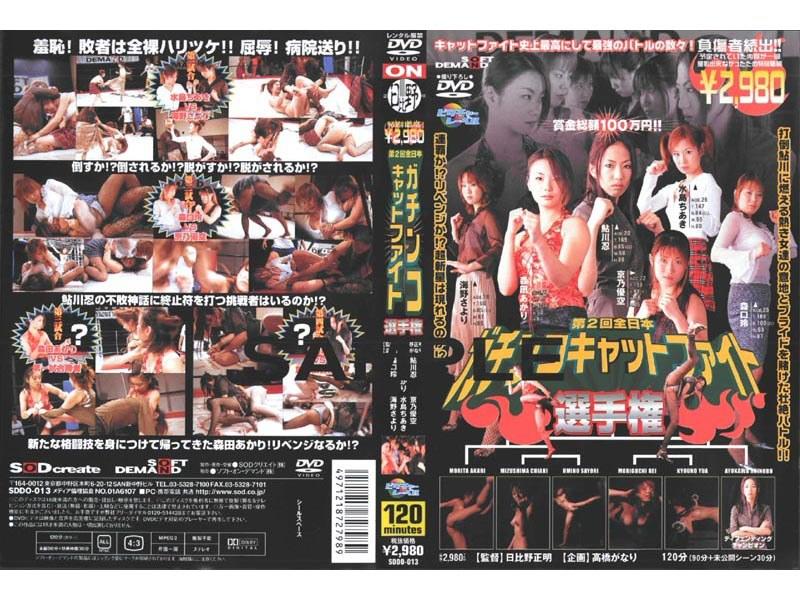 第2回全日本ガチンコキャットファイト選手権 パッケージ