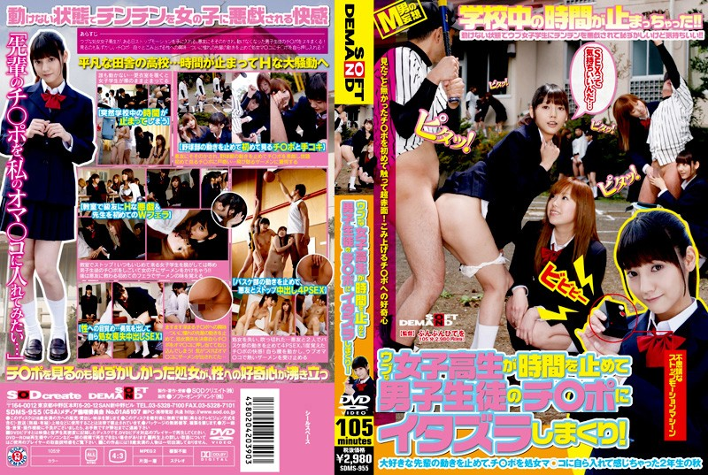 SDMS-955 Rolling Up A Prank To The Switch Port ○ Male Students Time To Stop The Innocent Schoolgirl! (SOD Create) 2009-12-19