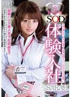 超ドキドキ◆ SOD体験入社 SARAH (DOD)