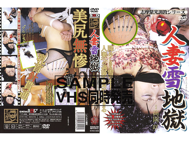 SVND-029 Shima Purple Light Snow Hell Married Series Torture (Shima Puranningu) 2004-03-18