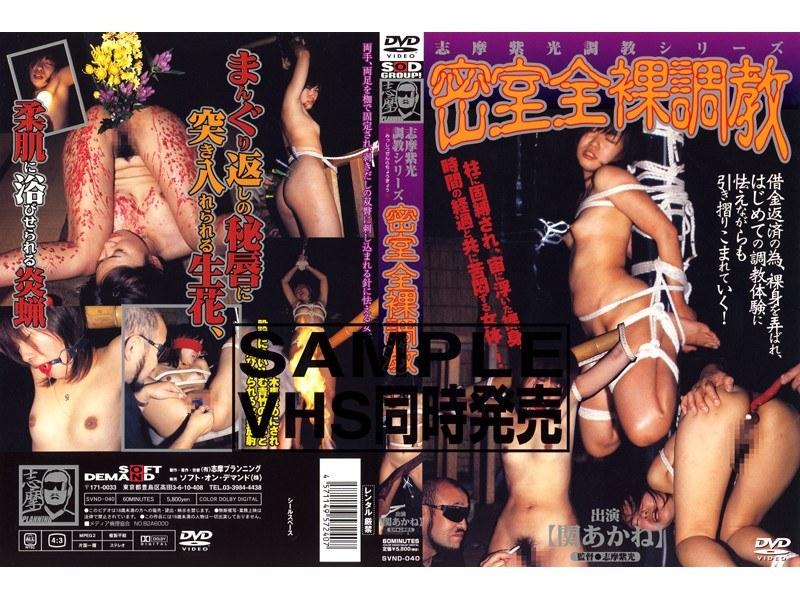 SVND-040 Torture Torture Series Light Purple Naked Behind Closed Doors Shima (Shima Puranningu) 2004-12-16