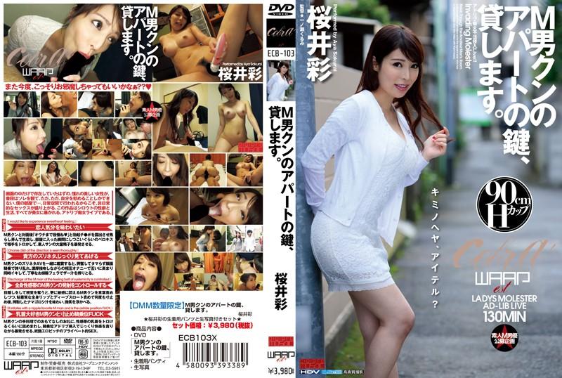 【DMM限定】M男クンのアパートの鍵、貸します。 桜井彩 パンティと生写真付き