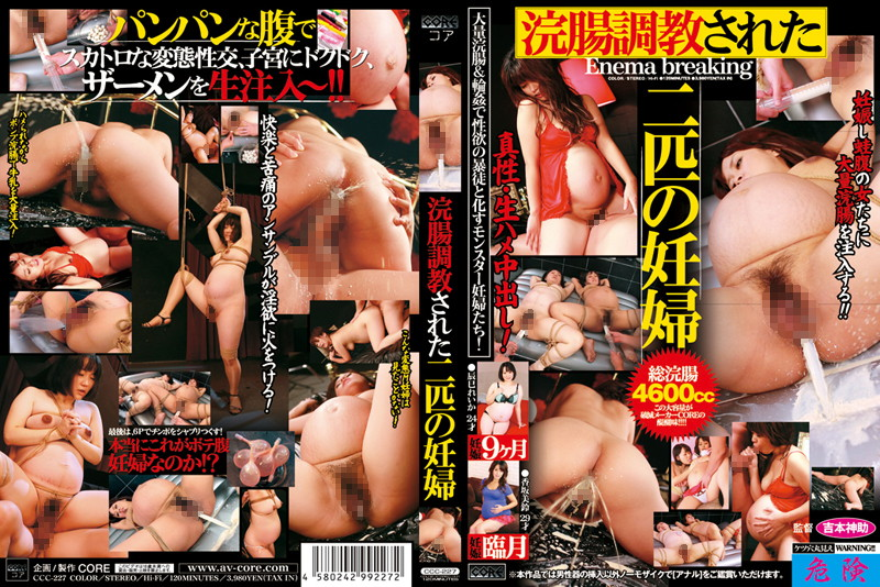 CCC-227 Pregnant Women Of Two Dogs That Are Trained Enema (Core) 2011-12-15