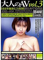 大人のAV まとめて10作品vol.3【ほぼ本編まるごと収録】