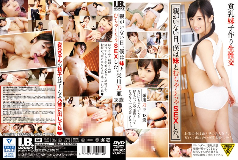 IBW-605z Parent Is Not The Day, I Was Unreasonable SEX And Sister Eikawa Noa