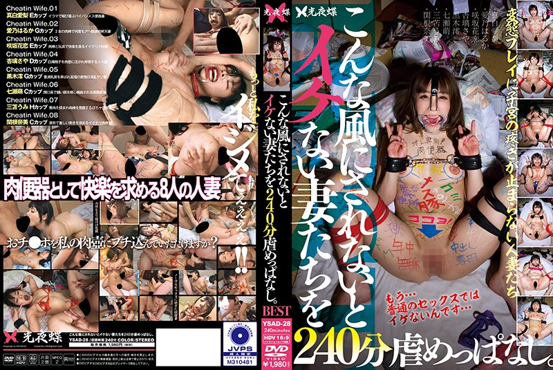 YSAD-28 For 240 Minutes I Will Leave The Wife Who Does Not Have A Good Time Like This. (Koyacho) 2019-03-29