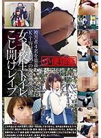 「女子校生トイレこじ開けレ○プ」のパッケージ画像