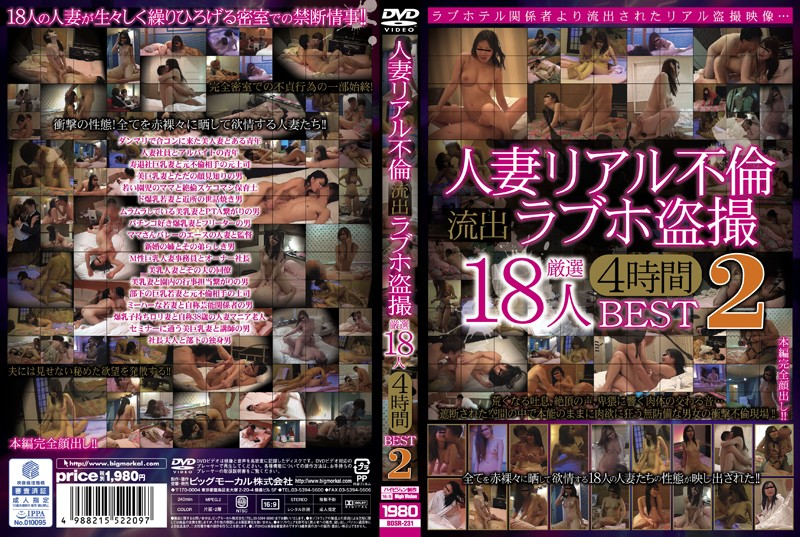 BDSR-231 Married Realistic Affair Outflow Hotel Scam Voyeur Carefully Selected 18 People Four Hours BEST 2