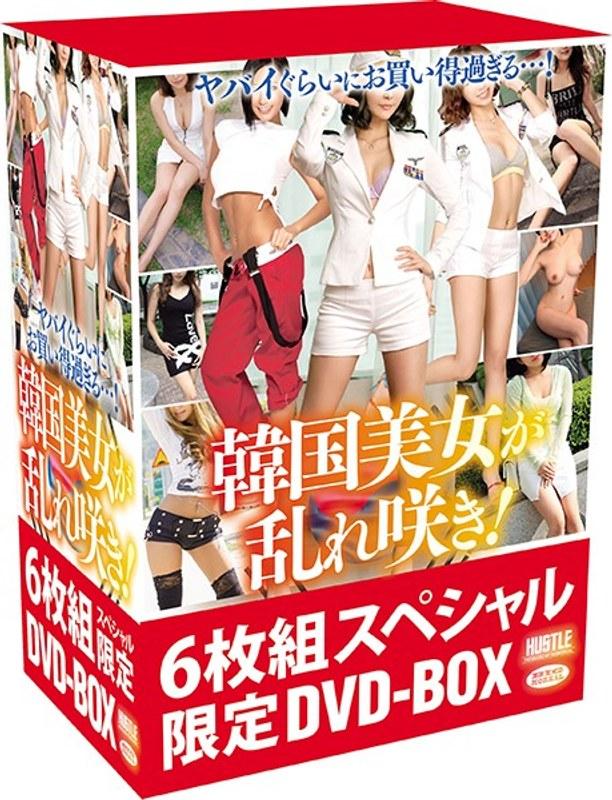 [HUSR-127] ヤバイぐらいにお買い得過ぎる…! 韓国美女が乱れ咲き! 6枚組スペシャル限定DVD-BOX アジア女優 痴女 4時間以上作品 モデル ビッグモーカル