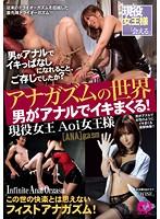 アナガズムの世界 男がアナルでイキまくる!現役女王 Aoi女王様
