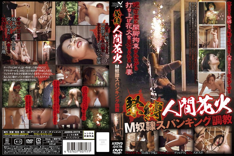 AXDVD-0117 Breaking In A Masochistic Slave With Spanking