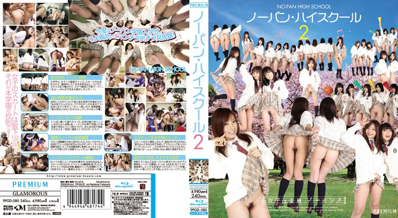PGD-380 Panties High School 2 (Blu-ray Disc)