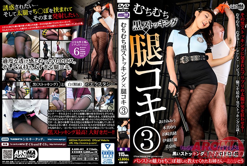 ARM-601 Ignorance Ignorance Black Stockings × Thigh Koki 3