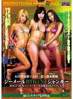 [AUKS-071] Shemale Bikini Junky - Big Cock Shemale x Wild Bikini Gal