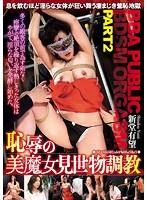 恥辱の美魔女見世物調教 BBA PUBLIC BDSM ORGASM PART2 狂おしき痙攣と意識が遠のく昇天を繰り返すマダム 新堂有望