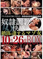 奴隷調教で快感の絶頂に達するマゾ女 10枚組26時間BOX