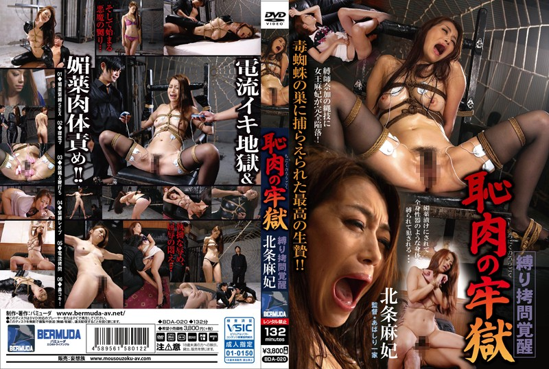BDA-020 The Hell And Shame Of Lustful Flesh Maki Hojo