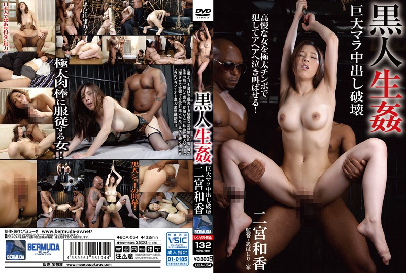 BDA-054 Black Guy Raw Sex Big Dick Violent Creampies – Waka Ninomiya