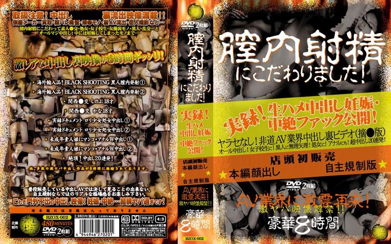 BZOX-002 Stuck In The Vagina To Ejaculation! (Yuugai Shuppan) 2007-02-25