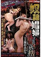 奴隷娼婦に転落した女 鋼鉄の桎梏 新村あかり