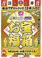 お宝福箱 超お得!! MEGAMI・M男パラダイス・AMEDIA セット