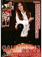 GAL Junkie 13 安西瑠菜 鬼畜な若妻虐待見せつけSEX (DOD)