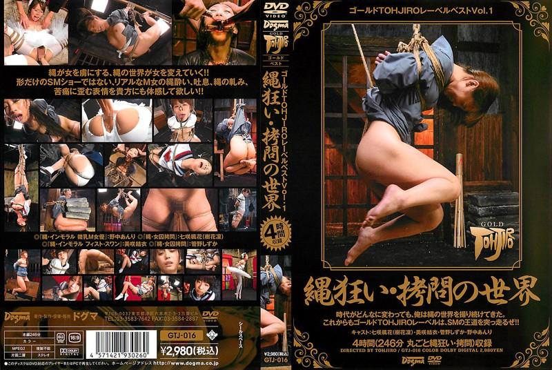 ゴールドTOHJIROレーベル・ベスト Vol.1 (DOD)