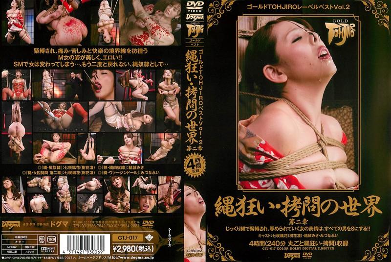 ゴールドTOHJIROレーベル・ベスト Vol.2 縄狂い・拷問の世界 第二章 (DOD)