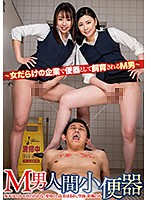 [DMOW-212] Masochist Man Human Toilet -Masochist Man Trained As Toilet In Business Filled With Women-