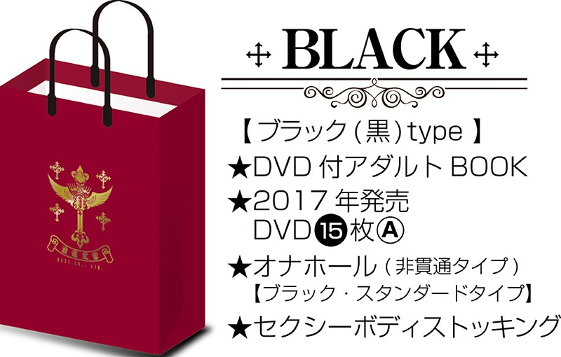 [BOX-1301] プレミアムADULTバッグ2 BLACK BOX