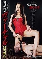 「日本一の責め上手 神納花のヴァーチャルM男責め」のパッケージ画像