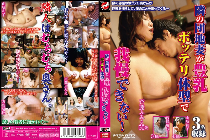 VNDS-3097 Next To The Park Wife Can Not Stand In The Big Plump Body Type!