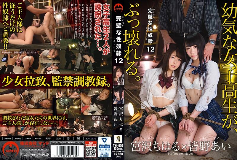 完璧な性奴隷 12 皆野あい 宮沢ちはる (TKI-053)