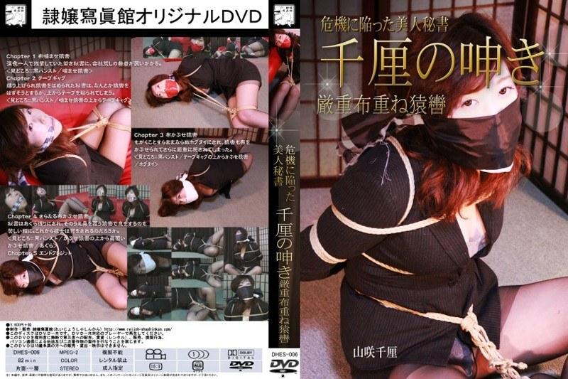 [DHES-006] 危機に陥った美人秘書 千厘の呻き 厳重布重ね猿轡 山咲千厘