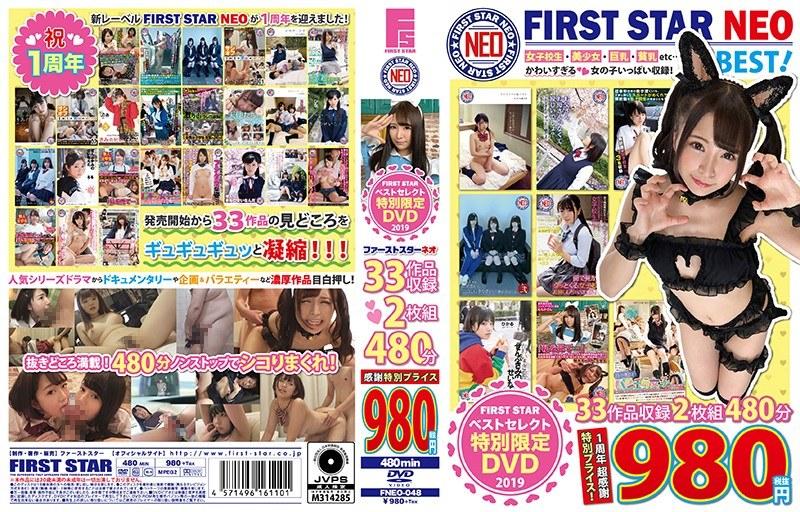 FIRST STAR 特別限定DVDベストセレクト2019 ファーストスターネオ 33作品収録 2枚組480分 感謝特別プライス980
