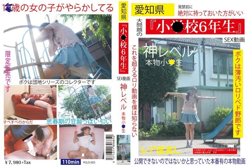 [PGLD-003] 愛知県「小○校6年生」SEX動画