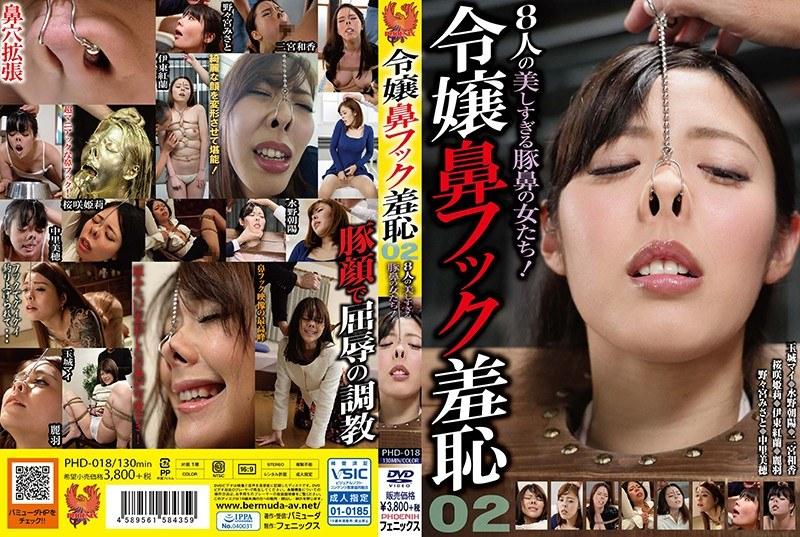 令嬢鼻フック羞恥02 8人の美しすぎる豚鼻の女たち