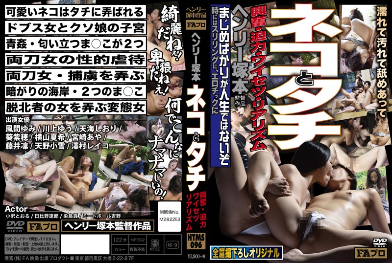 Henry Tsukamoto Excitement, Powerful, Obscenity Realism Cat And Tachi