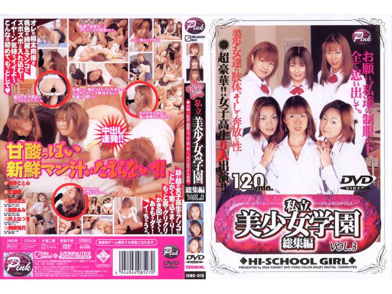 私立美少女学園 総集編 VOL.3 パッケージ