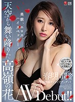 [JUL-315] An Unattainable Prize Falling From The Heavens Former International Flight Cabin Attendant Jun Harumi Age 28 AV Debut!!