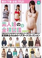 素人娘の全裸図鑑9 今時の女の子13名が恥らいながら脱衣していく様子をじっくり撮影した、変態紳士のためのヘアヌードコレクション