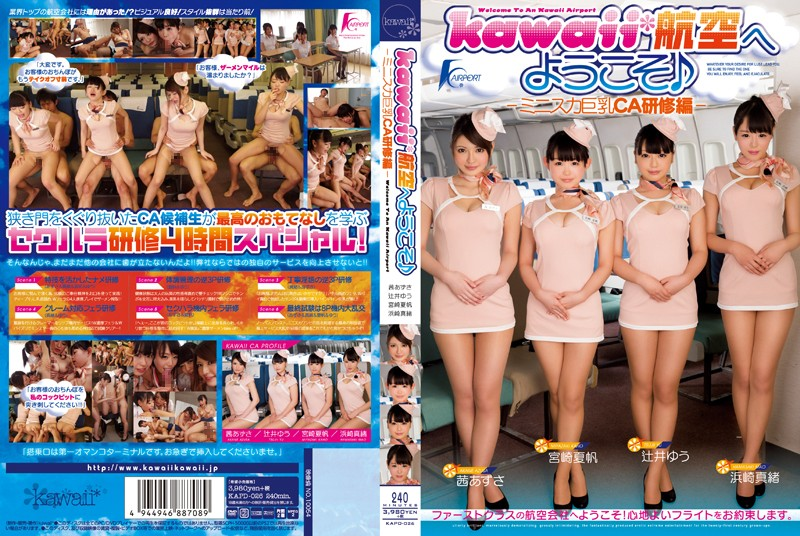 KAPD-026 Ed Training CA Big Mini Skirt - ‰ª» Welcome To Kawaii * Aviation -