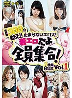 総時間300分越え!!止まらないエロス!着エロだよ全員集合!5枚組BOX Vol.1