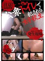 公衆トイレで犯される女子校生