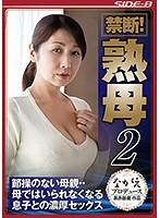 禁断! 熟母2 節操のない母親・・母ではいられなくなる息子との濃厚セックス 伊織涼子 NSPS-619画像