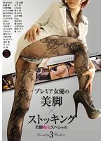 プレミア女優の美脚×ストッキング3