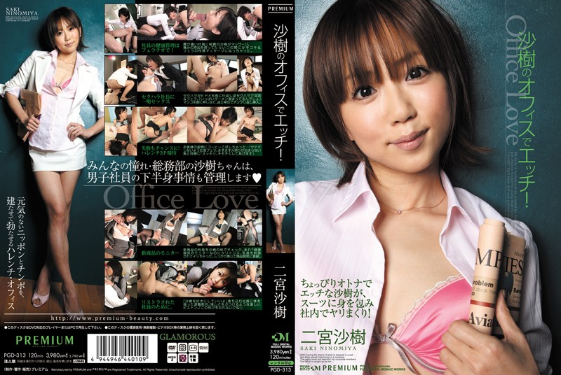 PGD-313 Sex In The Office Of Saki! Saki Ninomiya