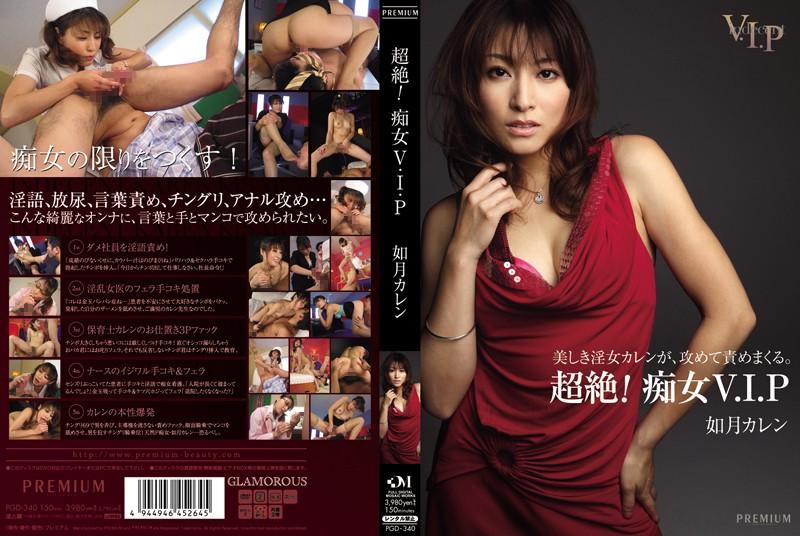 PGD-340 Transcendence! Karen Kisaragi VIP Slut