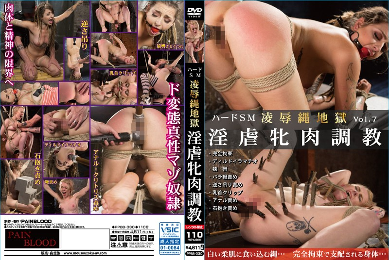 [PPBB-030] ハードSM 凌辱縄地獄 Vol.07 淫虐牝肉調教 縛り・緊縛 PPBB